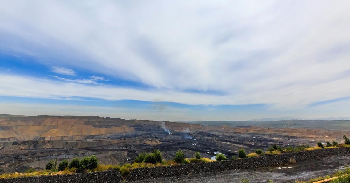 Китай, провинция Шаньси, добыча угля открытым способом © Shutterstock.com