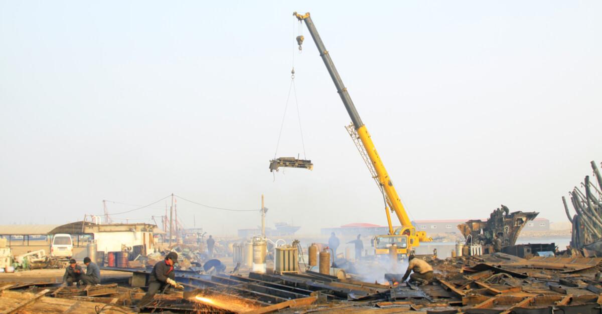 Китай довел долю лома в сырье для стали до 20%