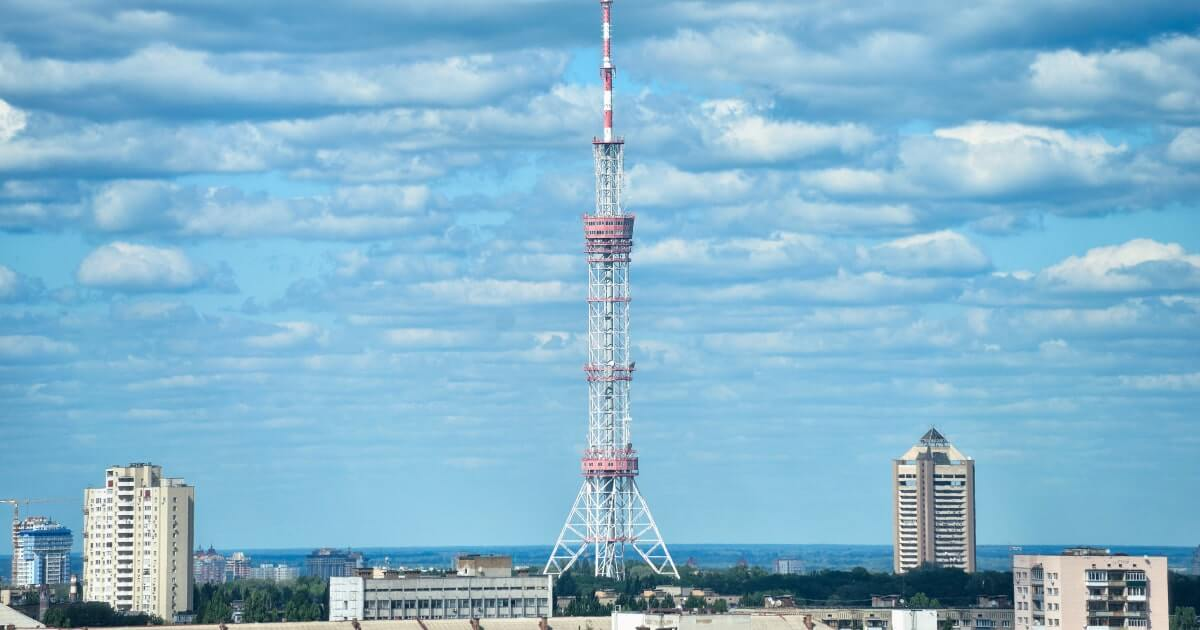 Киевская телебашня-shutterstock