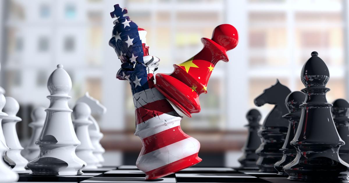 Отношения США и Китая - shutterstock