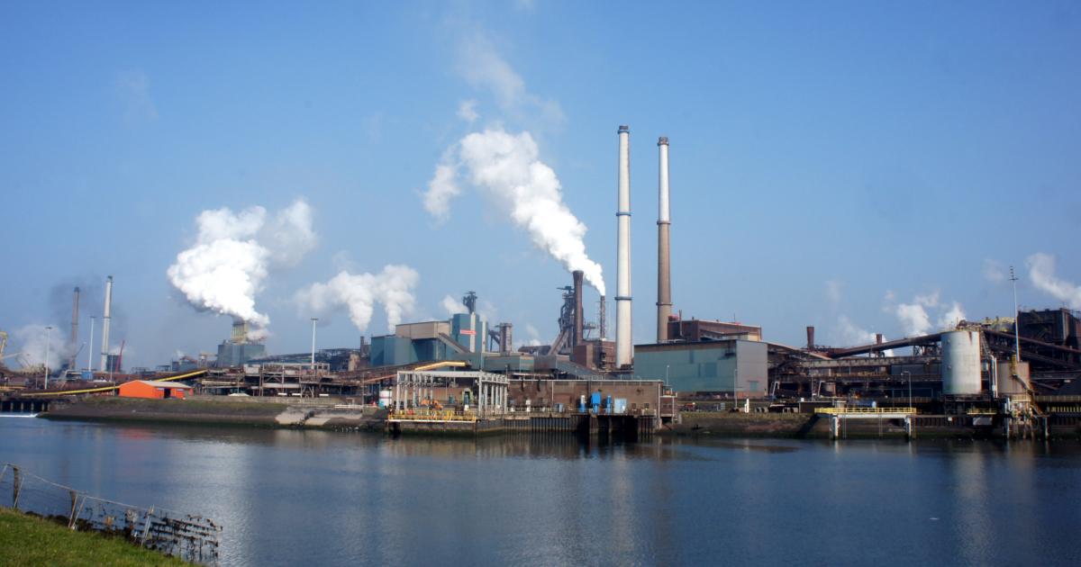 Tata Steel hoogovens by wikimedia