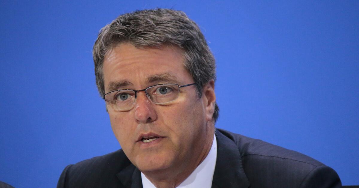 Глава ВТО Роберто Азеведо предупреждает крупнейшие страны об опасности торговых войн © shutterstock.com