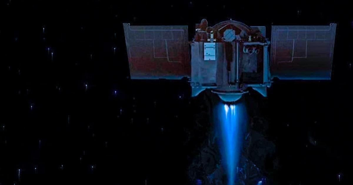 Аппарат OSIRIS-REx. Официальный инстаграм-аккаунт миссии