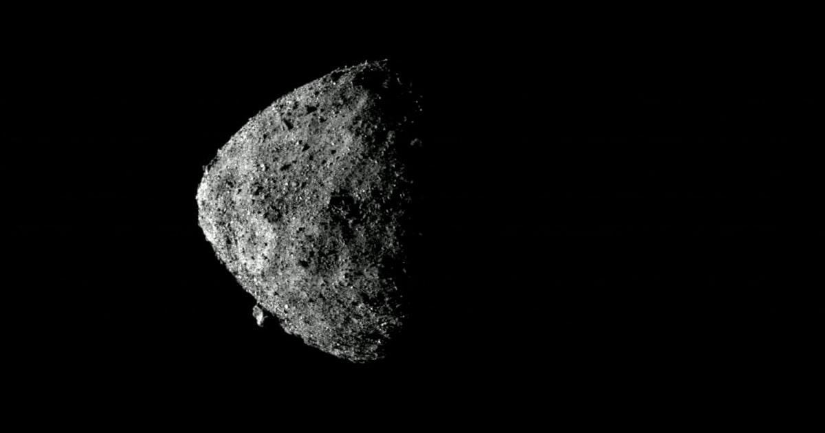 Астероид Бенну. Официальный инстаграм-аккаунт миссии.