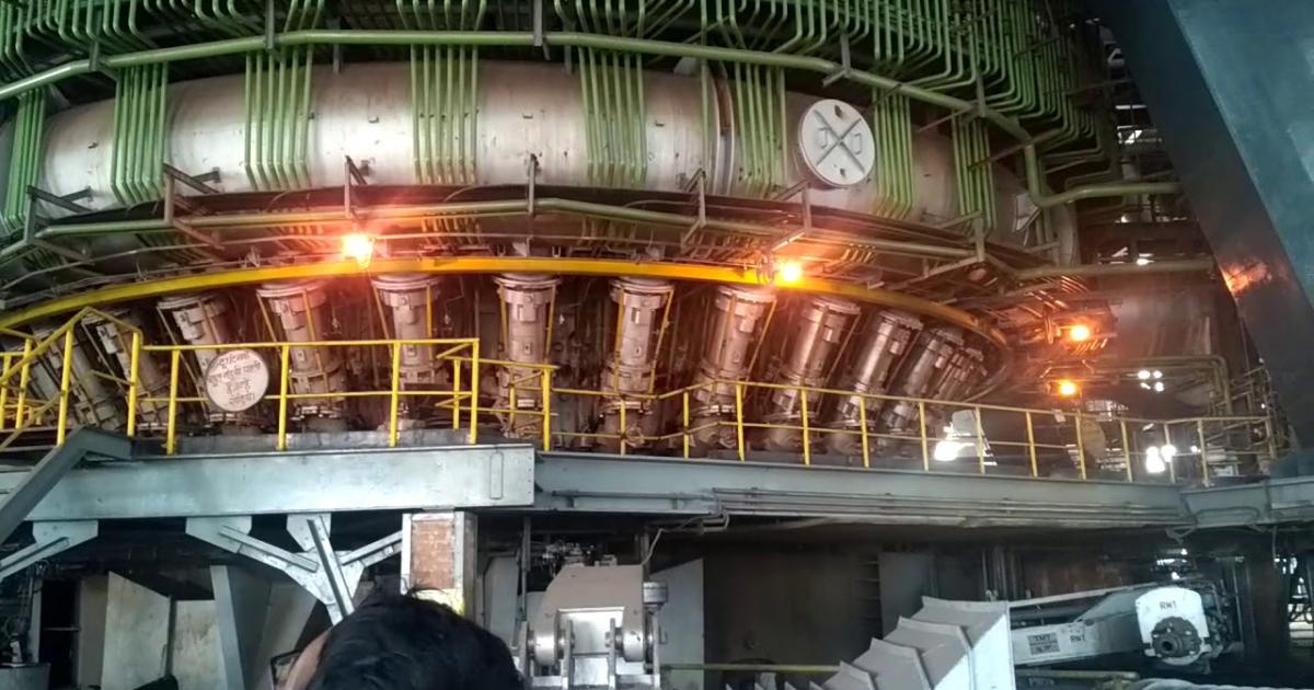 Bhilai Steel побил рекорд суточного производства стали ©Bhilai Steel