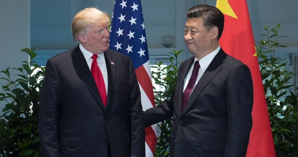 Президент США Дональд Трамп и председатель КНР Си Цзиньпин. scmp.com