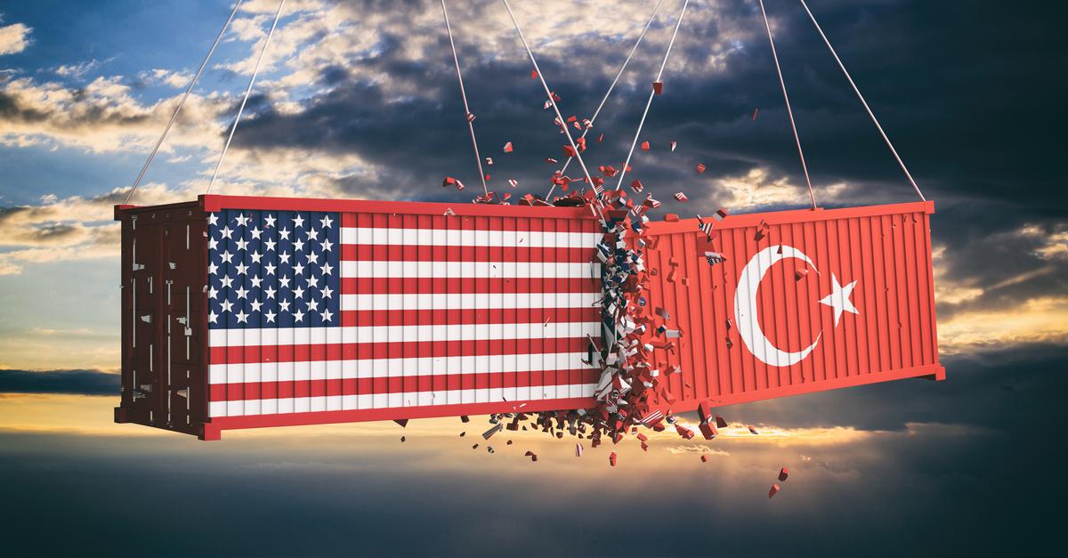 Турция надеется, что США отменят дополнительные тарифы на импорт турецких металлов © shutterstock.com