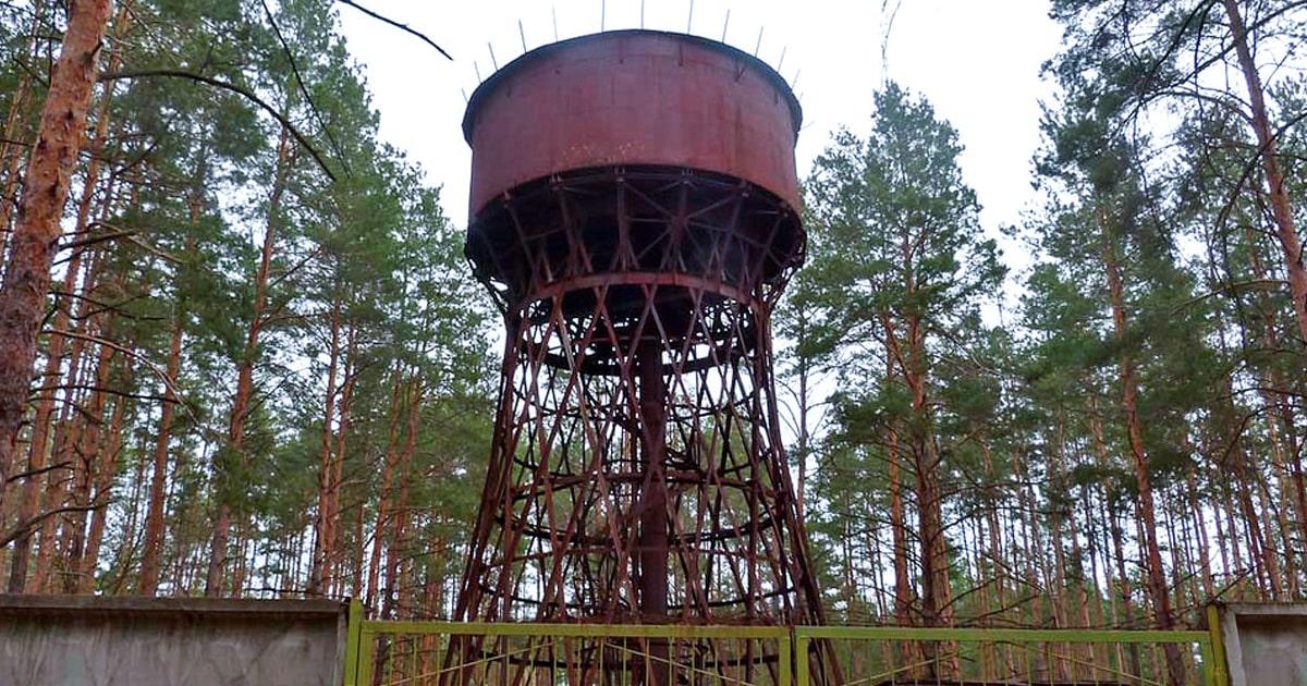 flickr.com - Водонапорная-башня-в-пгт-Песковка