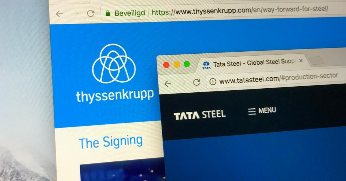 Thyssenkrupp и Tata Steel определились с директоратом СП © shutterstock.com