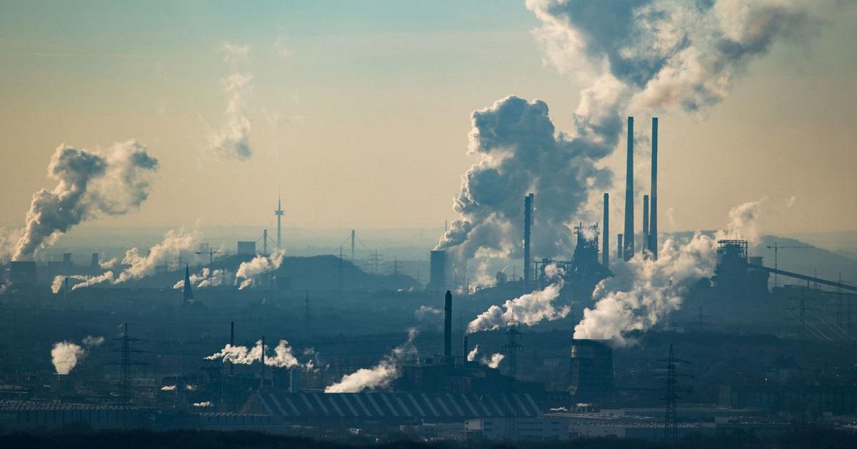 Промышленный комплекс в Оберхаузене, Германия. e360.yale.edu