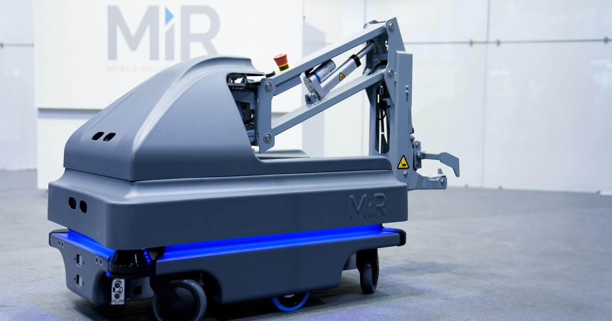 Мобильный робот с расширенной полезной нагрузкой MiRHook200