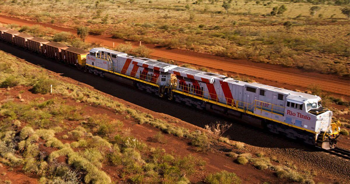 Rio Tinto запустил автоматизированные поезда для перевозки железной руды в Австралии © futurism.com