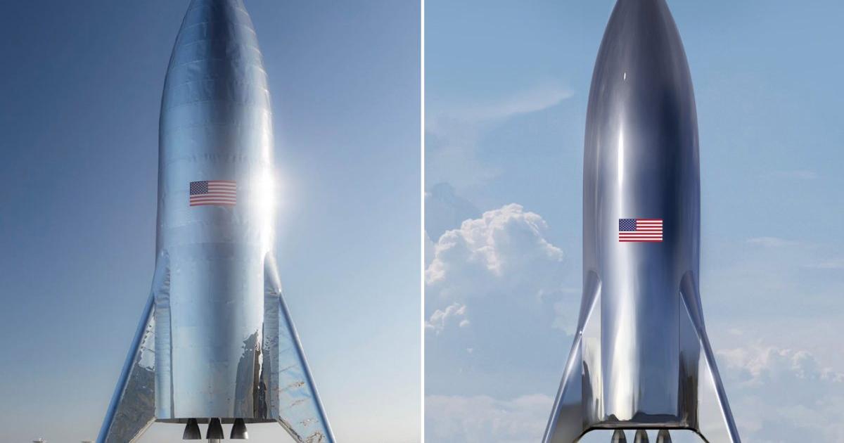 SpaceX построит ракету Starship Mars Rocket из нержавеющей стали