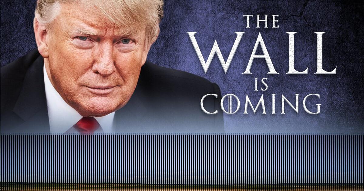 The Wall is coming! twitter.com/realDonaldTrump