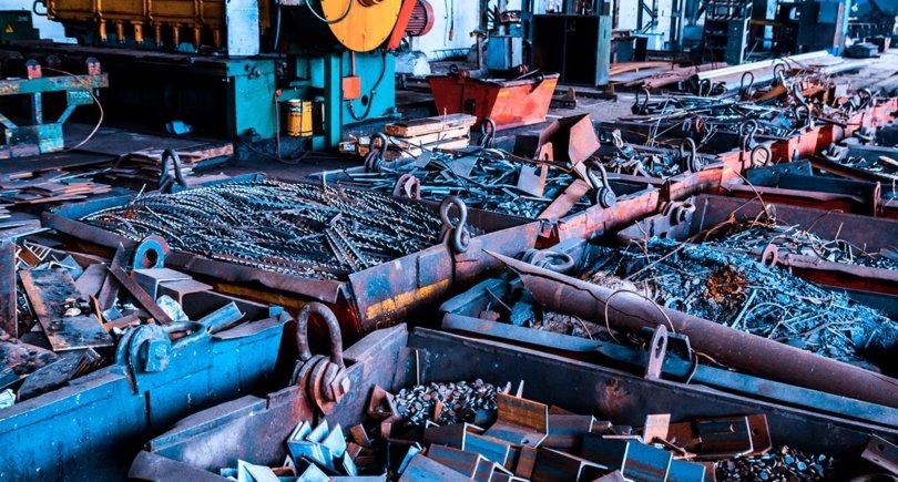 Металлолом. Подготовка к переработке на металлургическом заводе. gmk.center