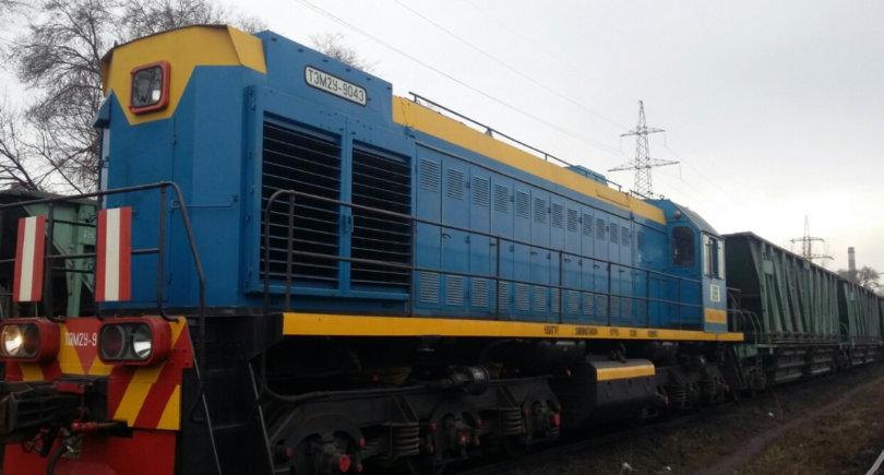 АМКР обновляет локомотивный парк © ukraine.arcelormittal.com