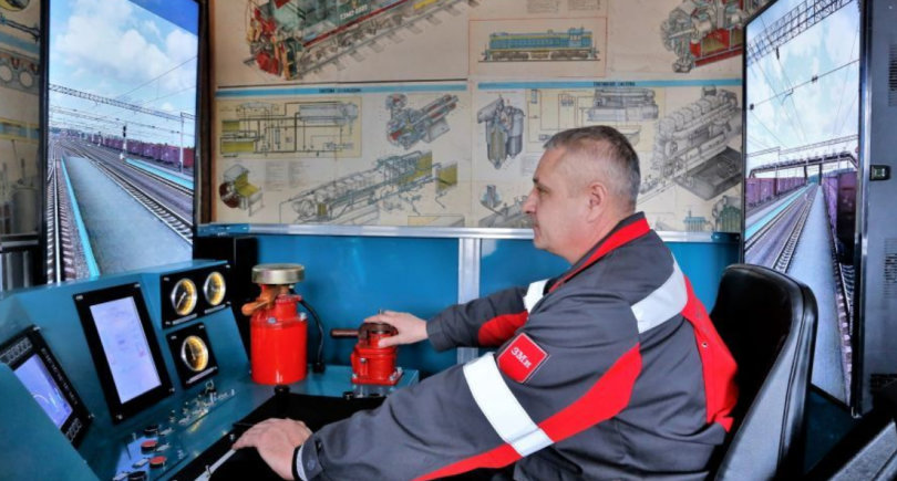 ММК им. Ильича инвестировал 1,4 млн грн в тренажер для обучения машинистов тепловоза © kso.metinvestholding.com