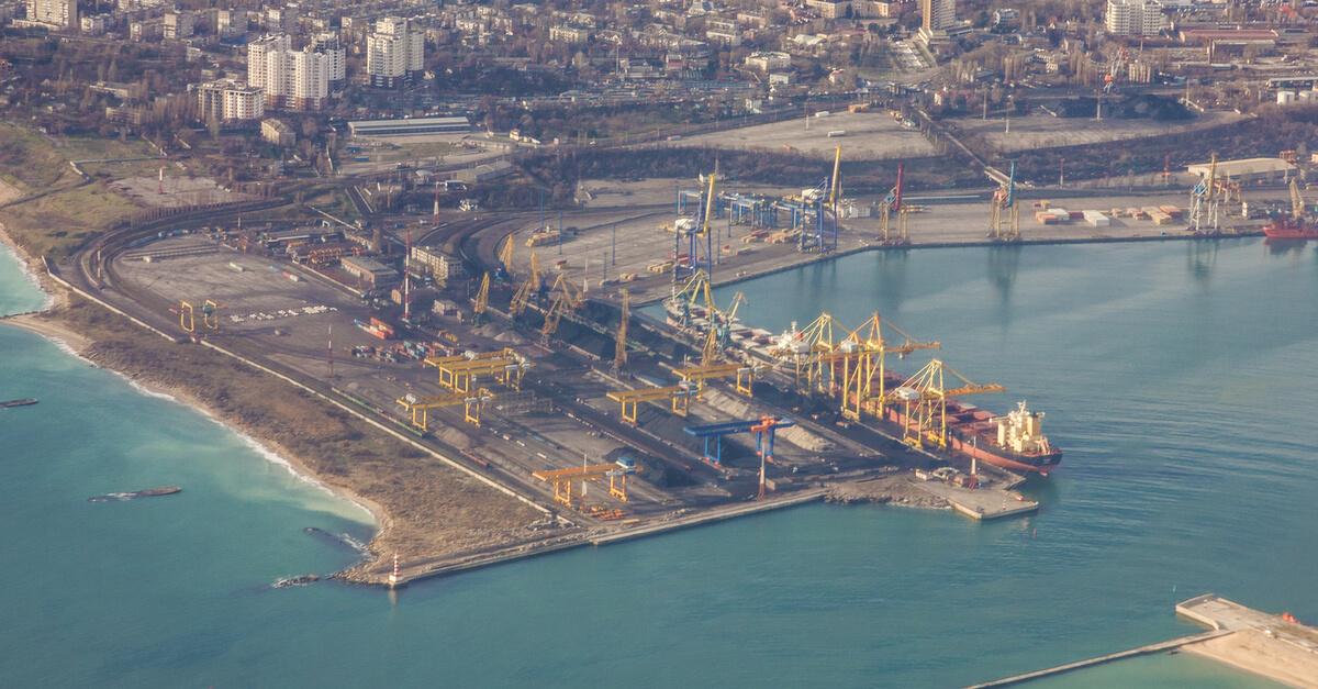 Экспорт руды из Украины в значительной мере приходится на порт Южный © shutterstock.com