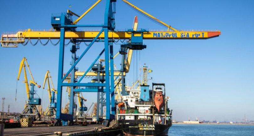 Порты Мариуполь и Измаил перевали по 1 млн т грузов за три месяца © uspa.gov.ua/mpw
