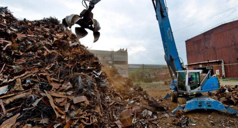 Металлолом: заготовка в феврале упала © www.facebook.com/uavtormet