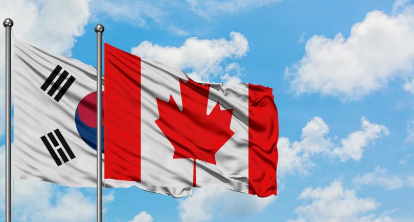 Южная Корея рассчитывает, что Канада отменит пошлины на сталь в мае © shutterstock.com