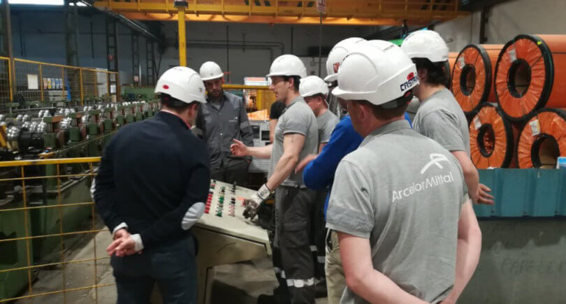 ArcelorMittal в 2018 нарастил продажи на 10% © twitter.com/ArcelorMittal