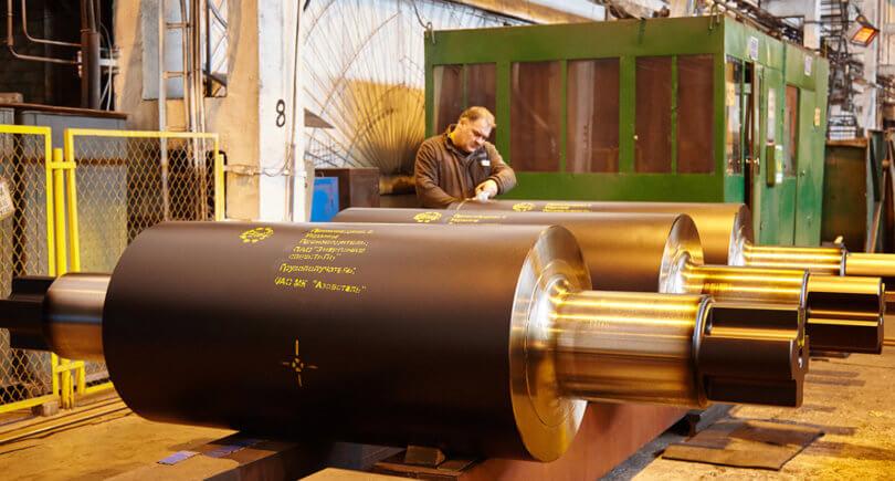 ЭМСС поставит на Азовсталь 182 тонны валков © emss.ua