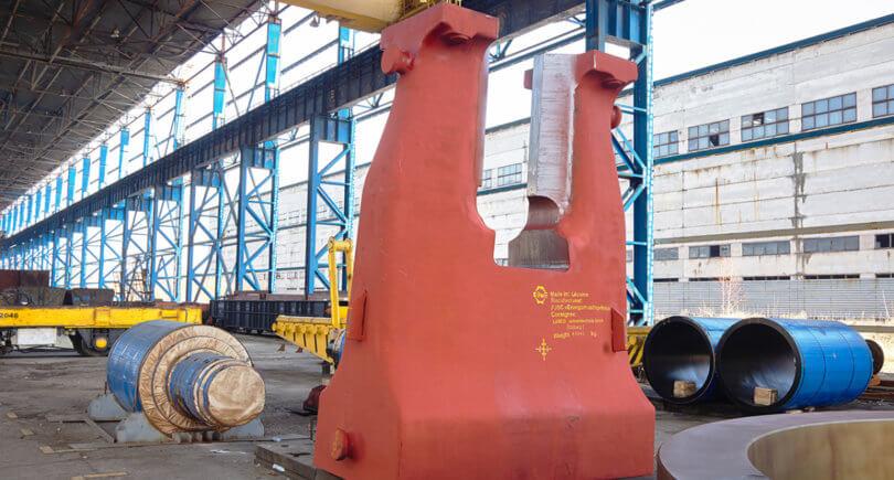 Энергомашспецсталь отправила в Германию часть кузнечного молота в 61 т весом © emss.ua