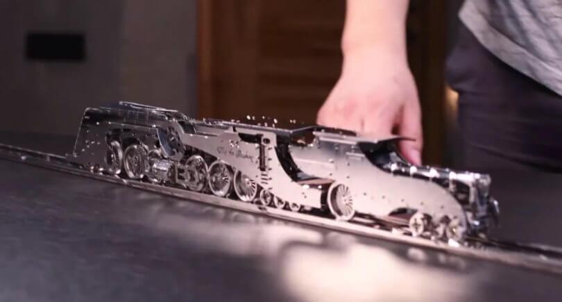 Time 4 Machine - украинские 3D-пазлы из металла © kickstarter.com