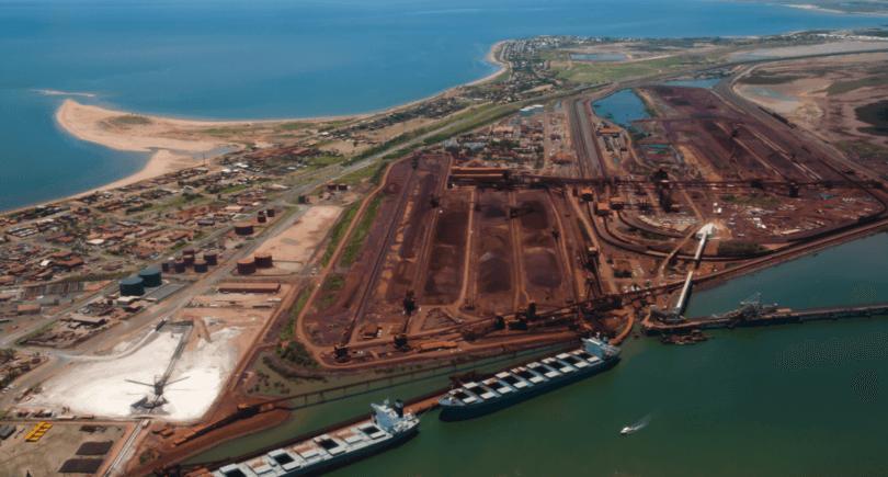 Австралия: Порт-Хедленд в апреле увеличил поставки руды в Китай на 13% www.shutterstock.com
