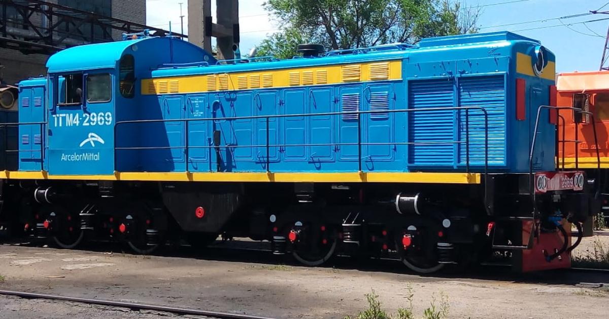 АМКР отремонтировал уже третий локомотив в Николаеве© ukraine.arcelormittal.com