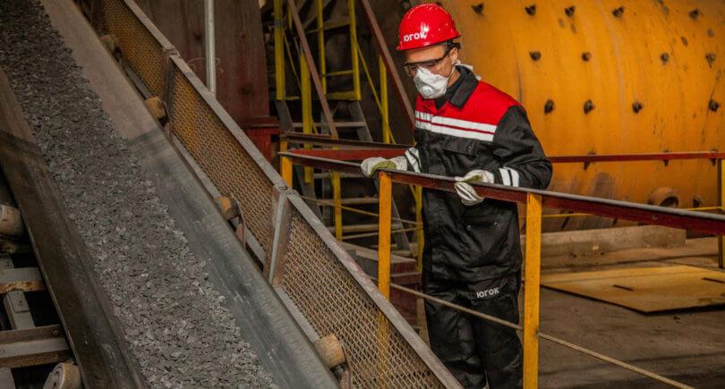 Южный ГОК нарастил выпуск концентрата на 0,5% до 1,047 млн т © ugok.com.ua