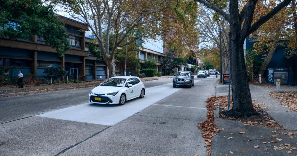 Sydney geopolymer cement pavement