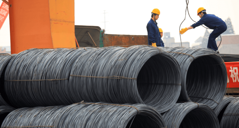 В Китае падает спрос на металлургическую продукцию согласно индексу деловых ожиданий CSLC(с) www.shutterstock.com