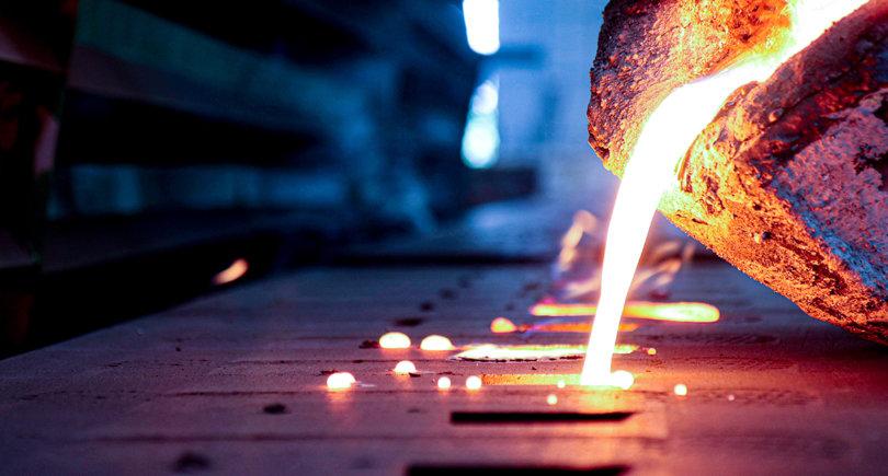 Китайские сталелитейные заводы в мае выплавили рекордный объем стали © shutterstock.com