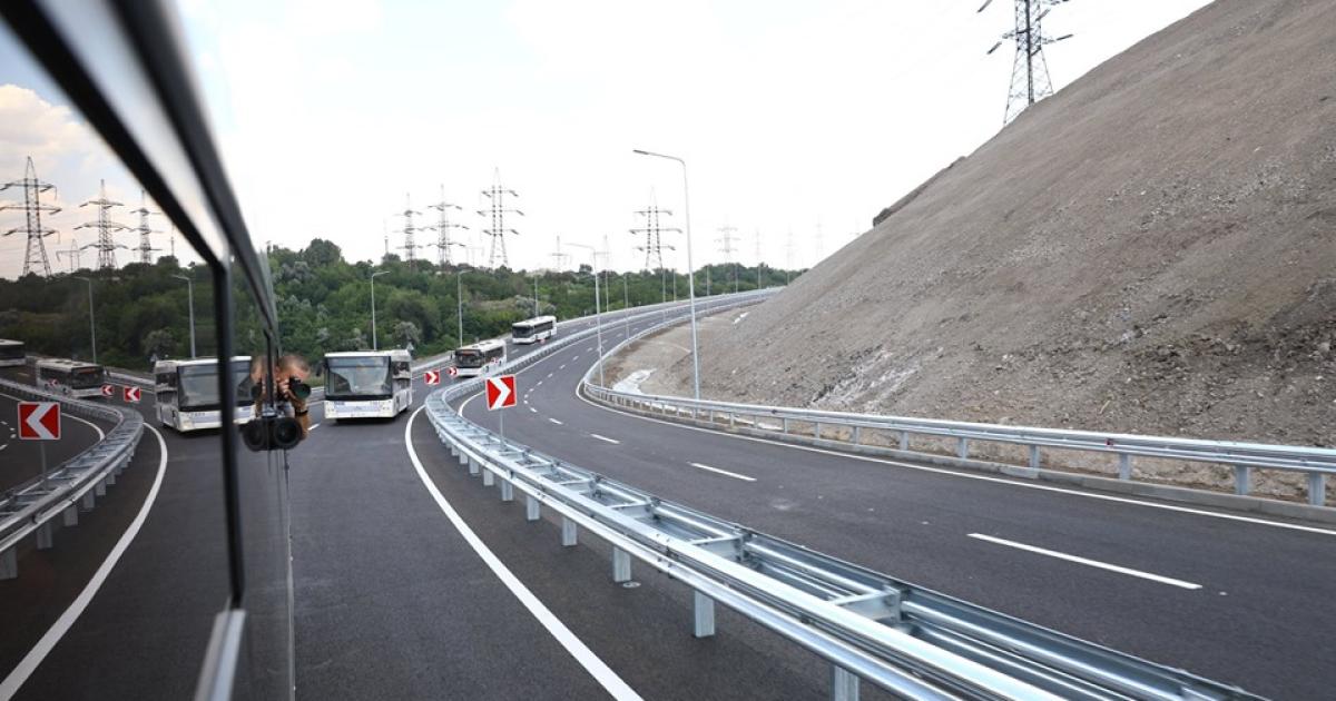 «Метинвест» и «Запорожсталь» открыли шоссе в Запорожье за 220 млн грн (c) www.facebook.com/Metinvest