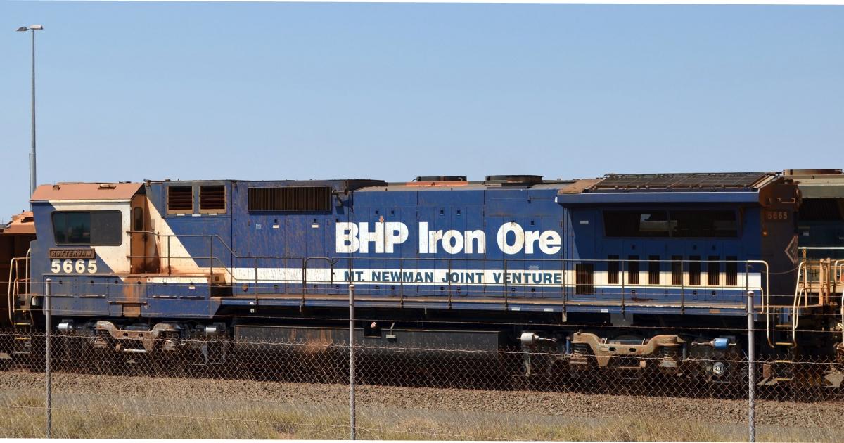 BHP восстановила добычу руды в апреле-июне © mining.com