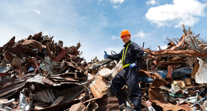 Экспорт металлолома за полгода © shutterstock.com