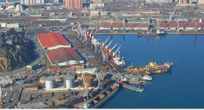 АМПУ: Порты увеличили перевалку руды. На фото - порт Южный © pushkinska.net