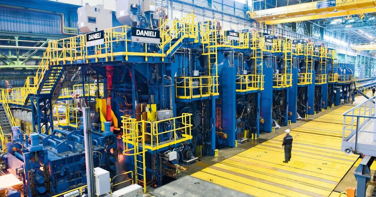 Узметкомбинат запустит завод горячекатаного проката от Danieli © www.danieli.com