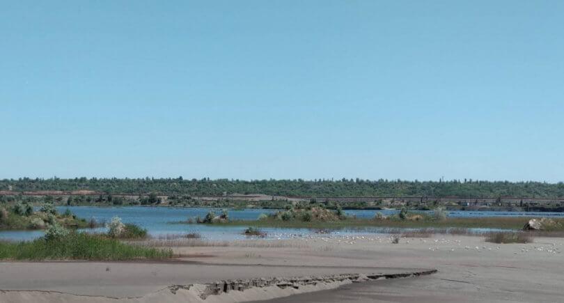 ИнГОК использует органику для борьбы с пылью на хвостохранилище © www.0564.ua