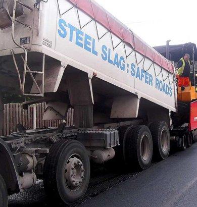 Road From Steelmaking Slag. steelphalt.com