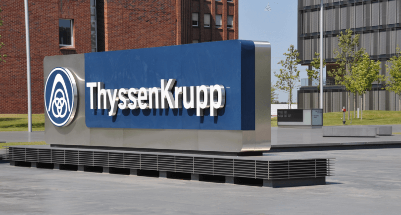 ThyssenKrupp перейдет на беуглеродное производство к 2050 году (c) shutterstock.com
