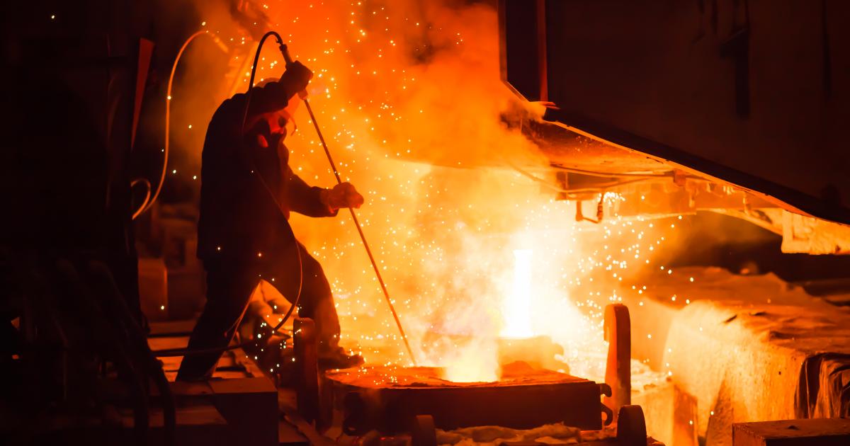 Украинский ГМК за полгода увеличил выпуск чугуна, стали и проката (c) www.shutterstock.com