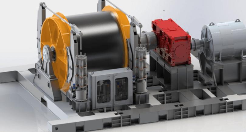 Corum Group изготовит подъемную машину для шахтеров ШУ «Покровское» (c) corumgroup.com