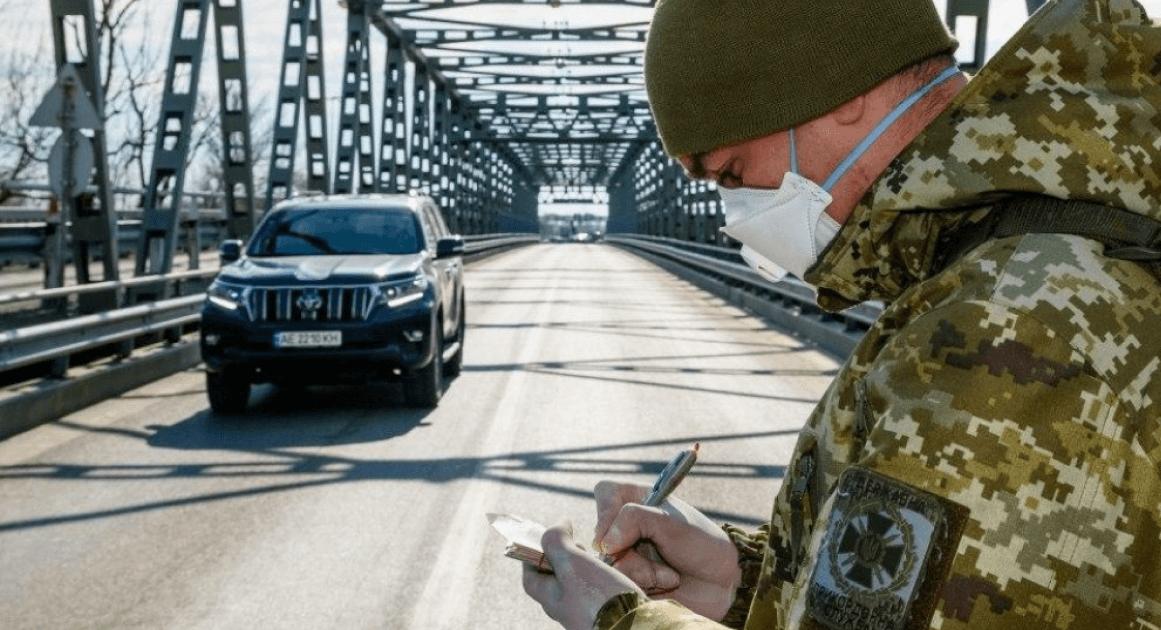 Украина закрыла около 100 пунктов пропуска на границе. Онлайн-карта (с) golos.ua